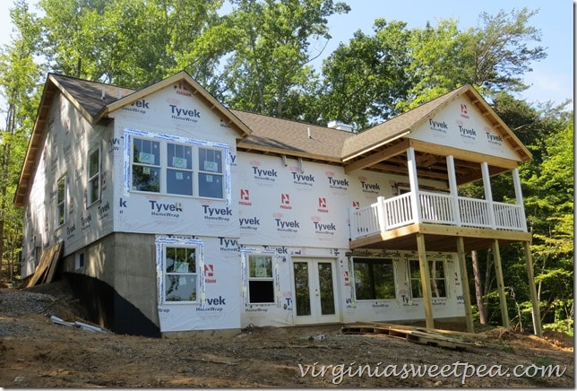 Lake house progress - August 2015  #sml