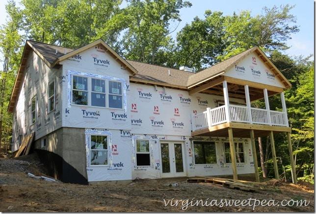 Lake house progress - August 2015 #sml
