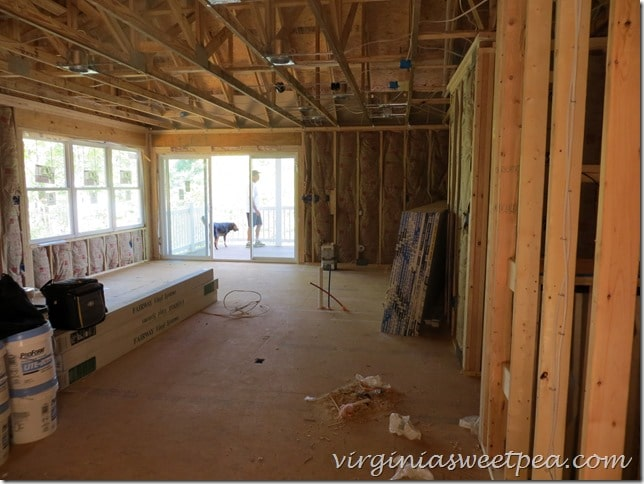 Family room in our SML house - August 2015