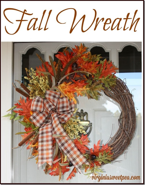 A wreath for fall by virginiasweetpea.com