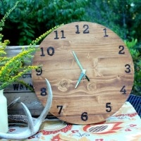 Make your own wood clock