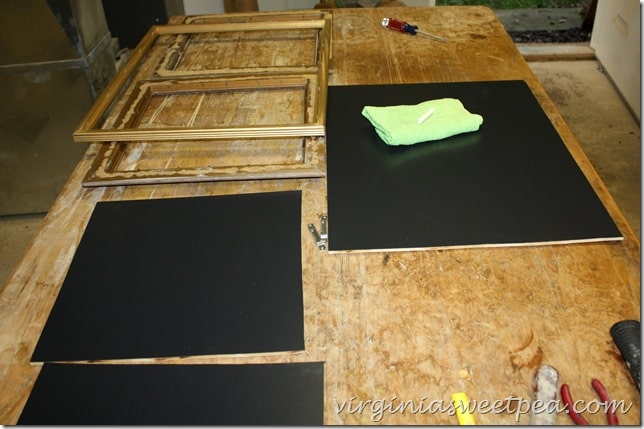 Learn how to make an easy DIY chalkboard for your home.