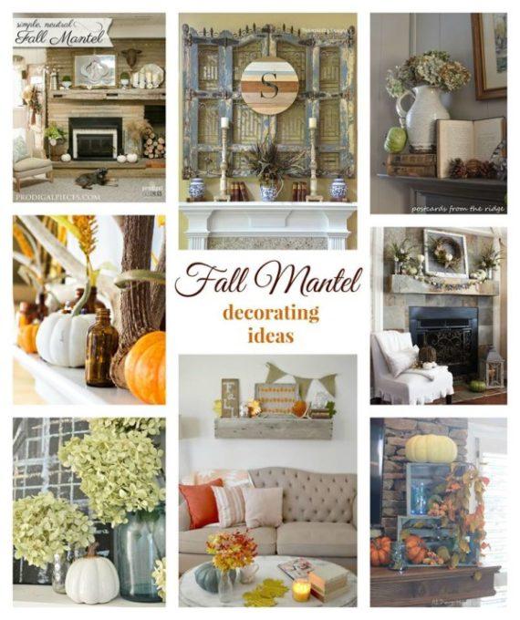 Fall Mantel Ideas