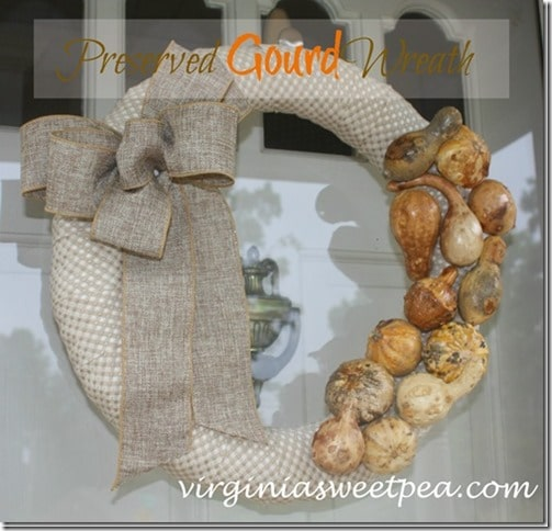 DIY Inspiration for fall decor - pillows, tea towels, wreaths, etc. from Sweet Pea