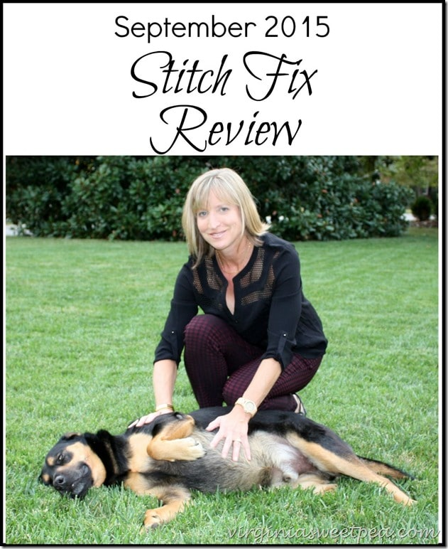September 2015 Stitch Fix Review - Fix #28! virginiasweetpea.com