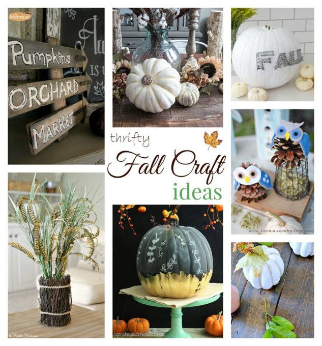 Fall Ideas Tour - Thrifty Crafts - virginiasweetpea.com
