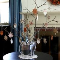 How to Make Fall Ornaments from Clay