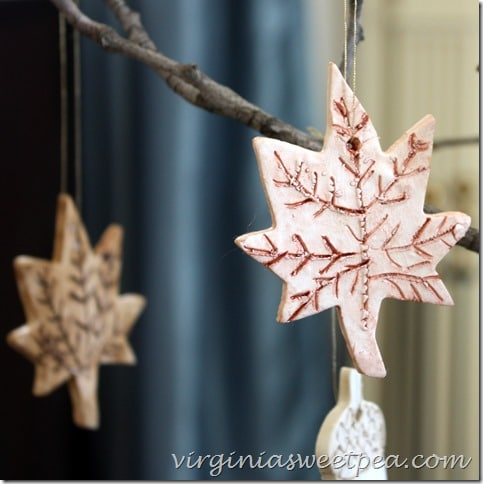 How to Make Fall Ornaments from Clay by virginiasweetpea.com