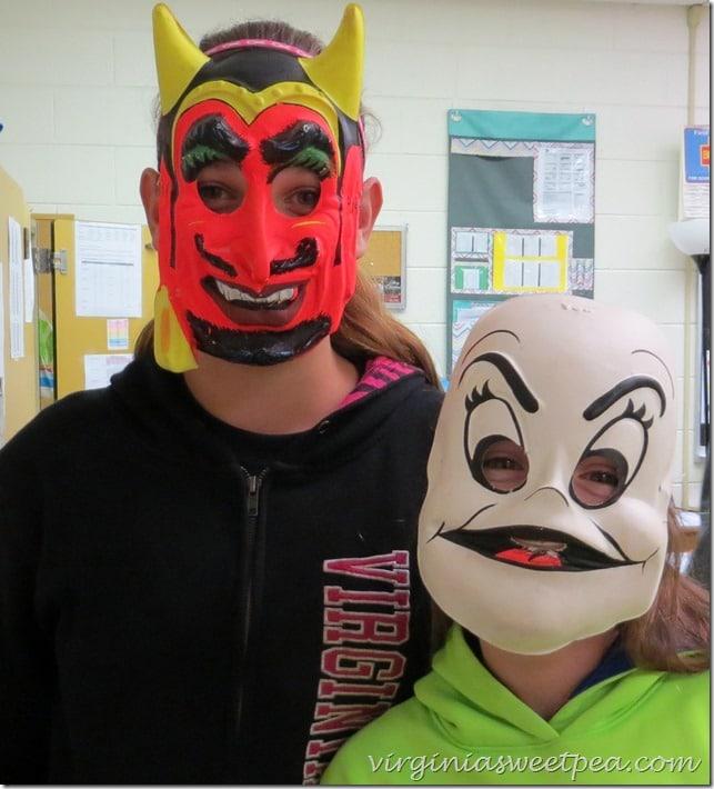 1970's Halloween Masks