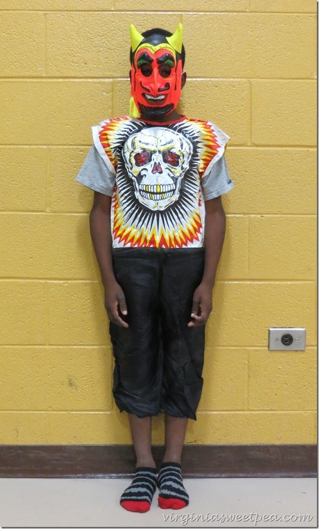 1970's Skeleton Costume
