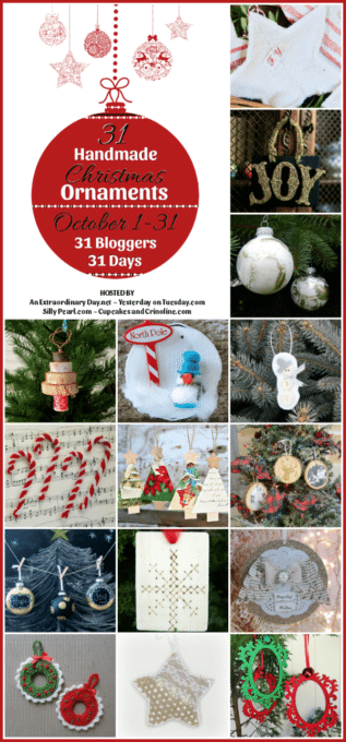 Get 15 ideas for Christmas Ornmaments