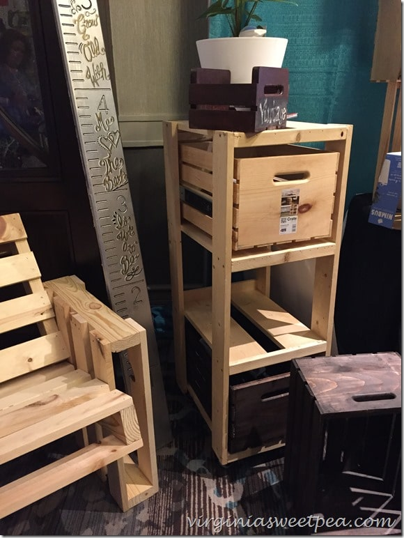 Crate Cabinet at Haven