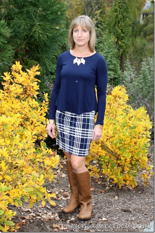 Hailey 23 Ellyn Dress Stitch Fix October 2015