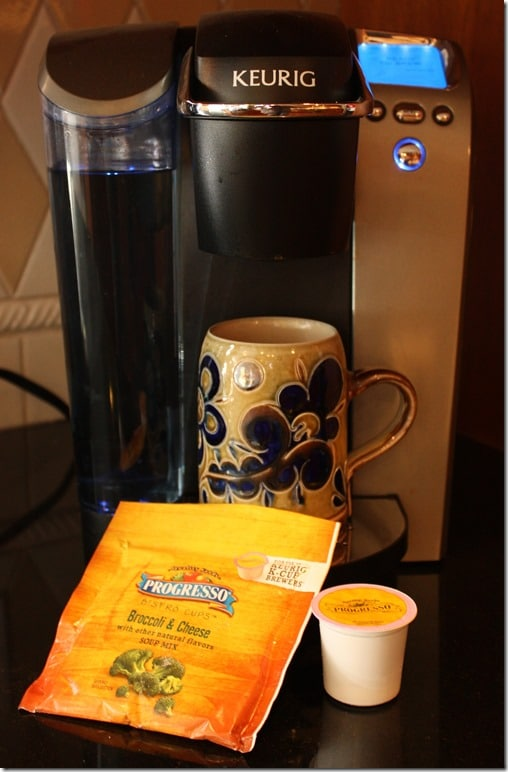How to Make Progresso Bistro Cup Soups with a Keurig