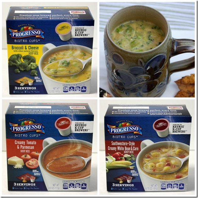 Lunch in Under a Minute - Progresso Bistro Cups