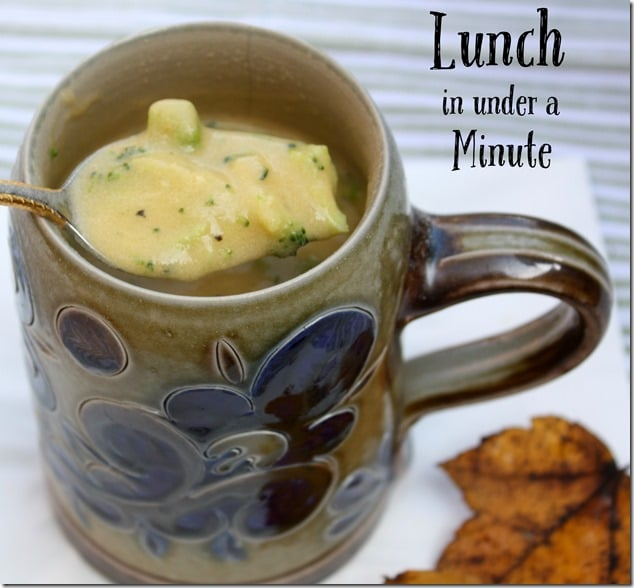 Lunch in Under a Minute - Use Your Keurig to Brew Soup!