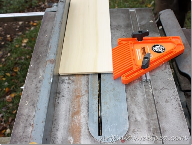 Setting Up the Table Saw