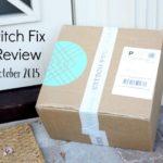 October 2015 Stitch Fix Review (Fix #29)