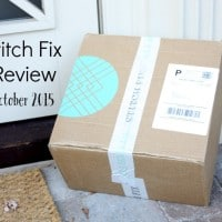 Stitch Fix Review for October 2015 - This service is great for women who love clothes but don't like to shop for them.