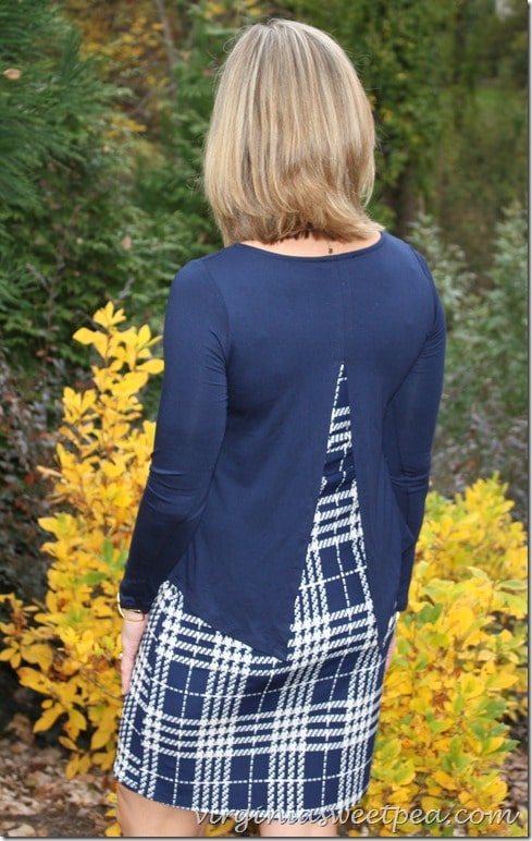 Stitch Fix October 2015 - Hailey 23 Ellyn Dress - Back