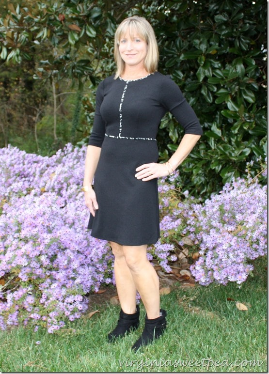 Stitch Fix October 2015 - THML Nanette Dress with Booties