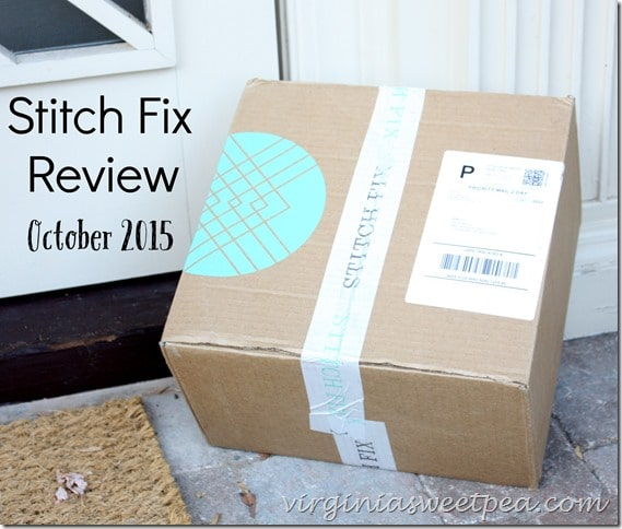 Stitch Fix Review for October 2015 - virginiasweetpea.com