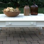 Cottage Style Coffee Table Makeover