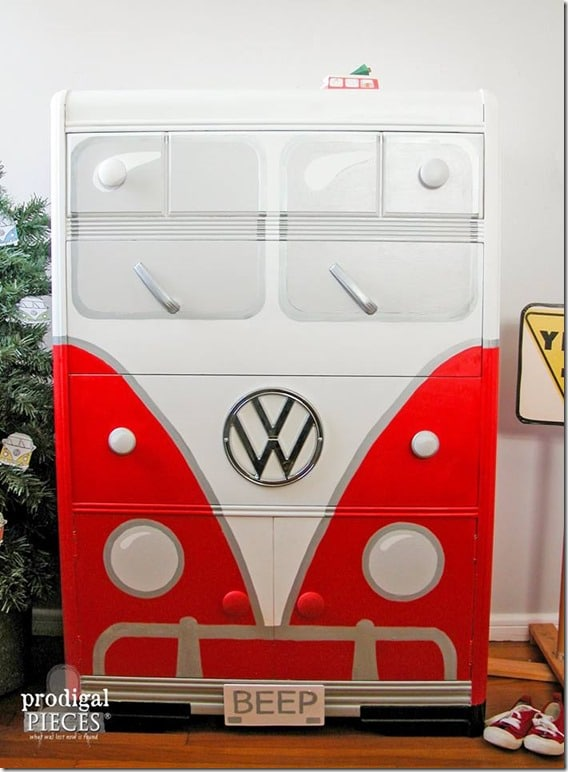 Beep Two Volkswagon Dresser