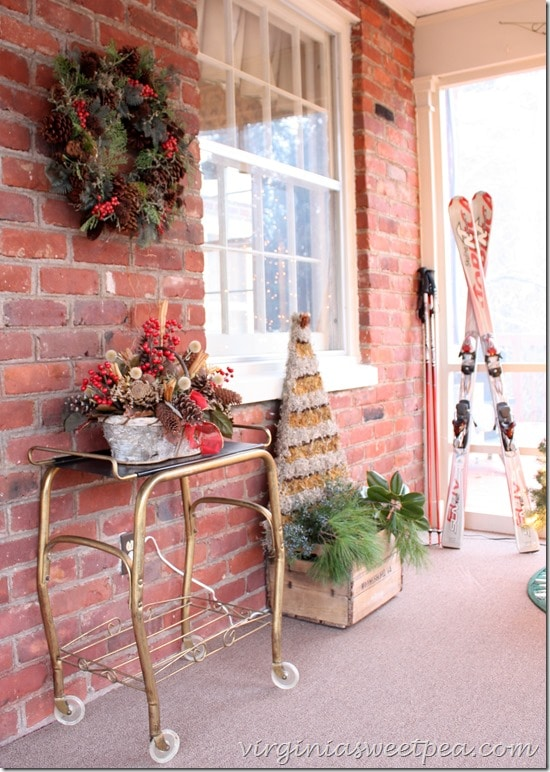 Christmas 2015 Porch Decor