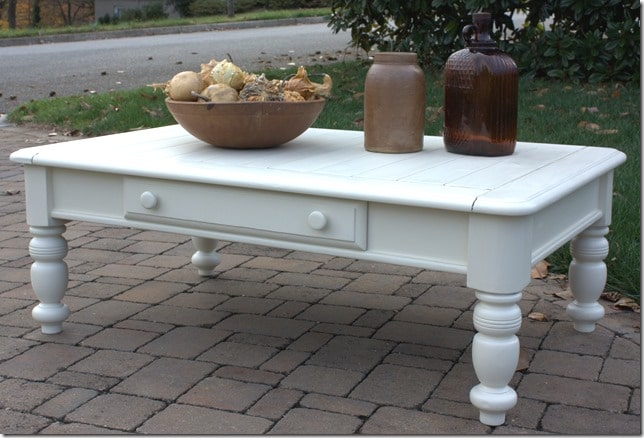 Coffee Table Makeover - Cottage Syle