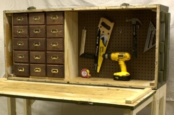 Astounding Russian Rifle Crate To Diy Workbench Sweet Pea Beatyapartments Chair Design Images Beatyapartmentscom