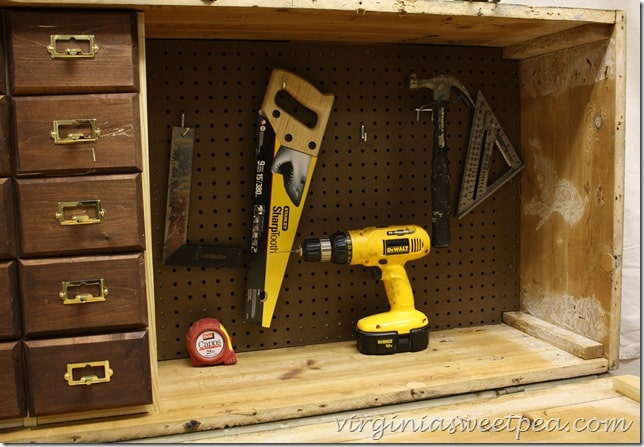 DIY Work Bench from a Russian Rifle Storage Crate