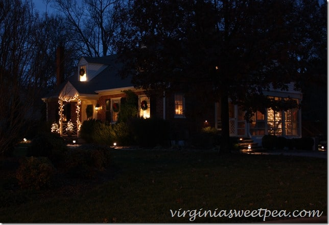 Our Christmas Home - Outside 2015