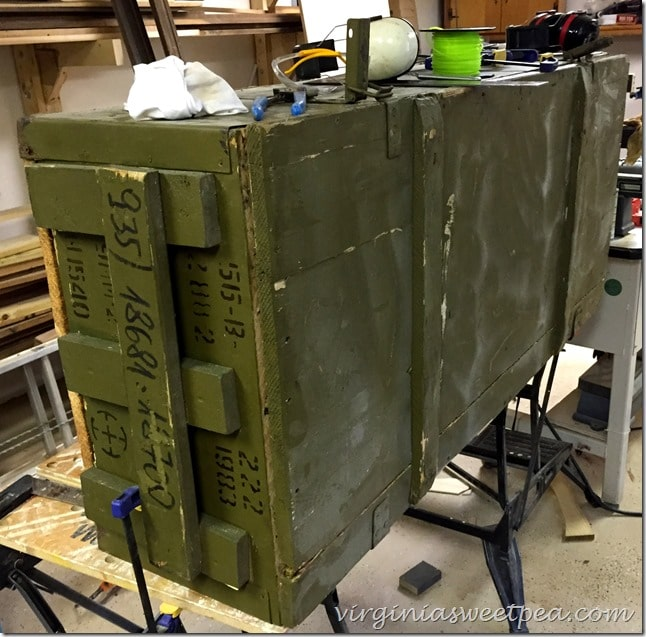 Russian Rifle Storage Crate