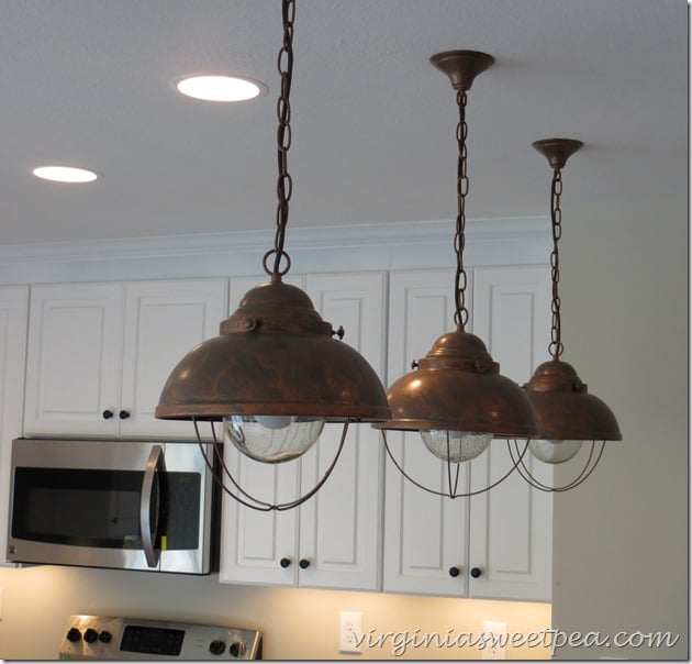SML Pendants for Kitchen