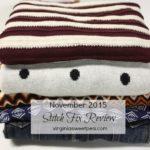 November 2015 Stitch Fix Review (Fix #30)