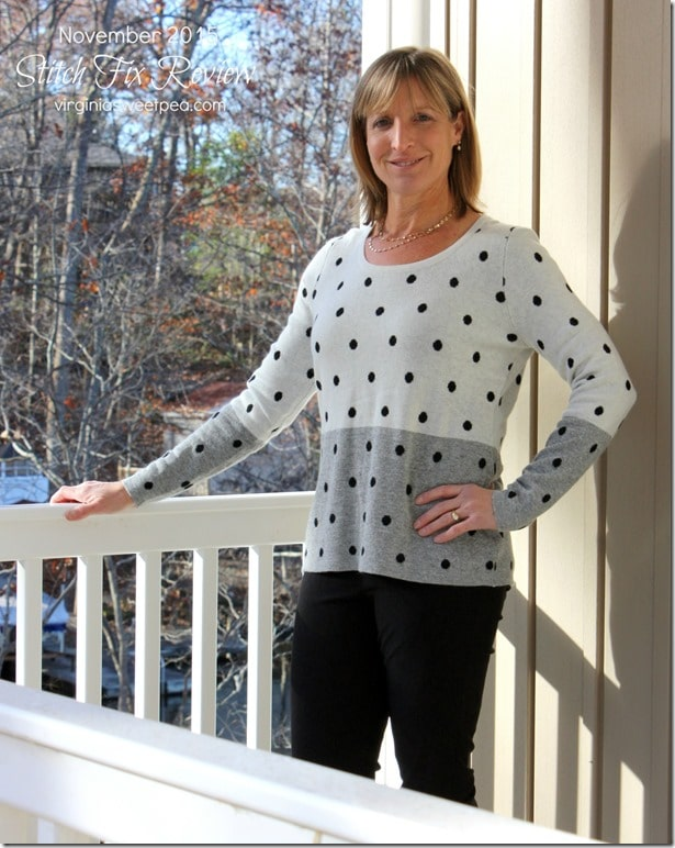 Stitch Fix Review - November 2015 - Market and Spruce Mainy Pullover Sweater - This sweater is so soft!