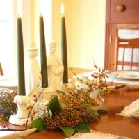 Thanksgiving Centerpiece – Nature Meets Vintage