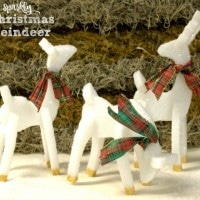 Sparkly Christmas Reindeer