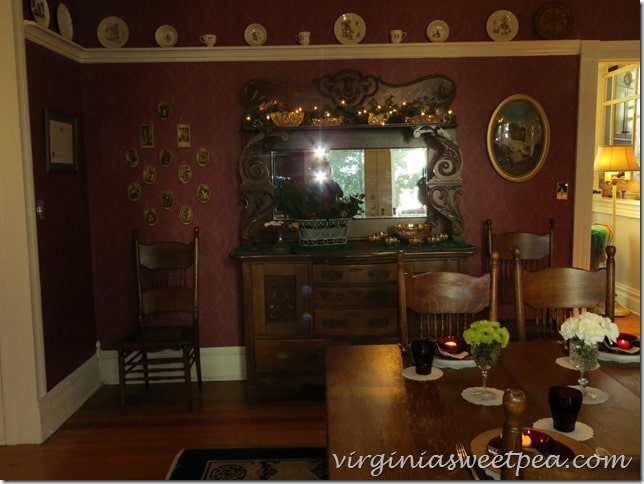 Christmas 2015 Waynesboro Virginia Home Tour-Gunther House