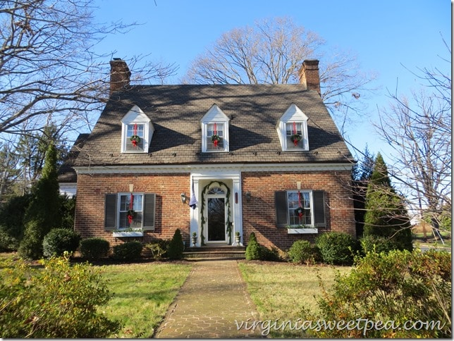 Christmas 2015 Waynesboro, Virginia Home Tour-Harris House