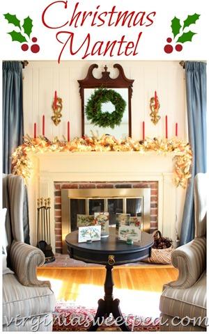 ChristmasMantelwithredgreenandgold.virginiasweetpea.com_.jpg
