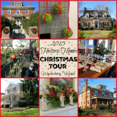 Historic Homes Christmas Tour in Waynesboro, VA - Christmas 2015