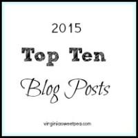 2015 Top Ten Blog Posts