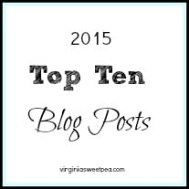 Top Ten Blog Posts for 2015