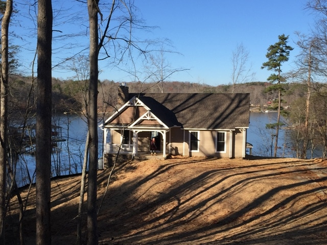 Smith Mountain Lake House Constructed in 2015