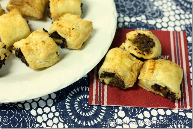 Spicy Sausage Rolls - A Great Party Appetizer - These don't take long to make and are a great crowd pleaser.