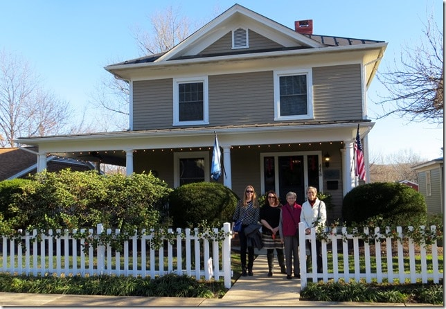 Waynesboro Virginia Christmas Home Tour 2015 - Wilfong House