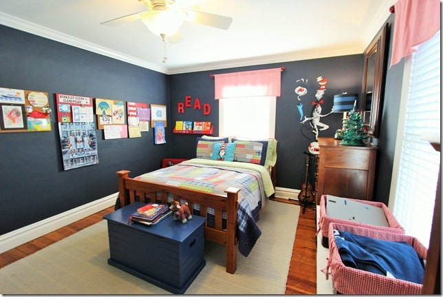 Dr. Seuss Themed Child's Room