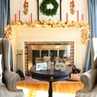 Christmas in the Living Room – Home for the Holidays Tour